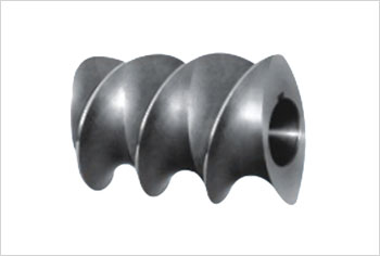 Steel-bonded screw element