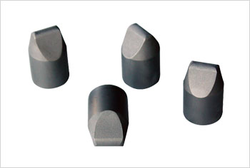 Steel-bonded ball tooth bits