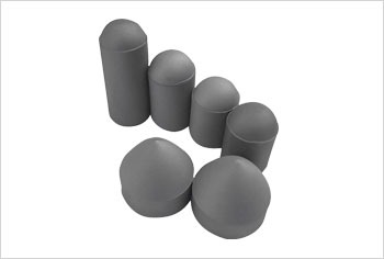 Steel-bonded cemented carbide ball tooth bits